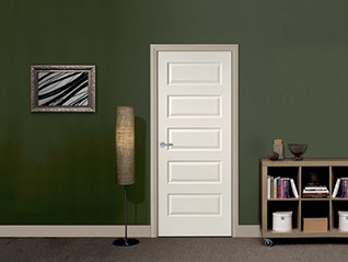 Our residential molded panel doors are backed by a limited 1-year warranty on quality and craftsmanship (for interior use only.) & Panel Designs